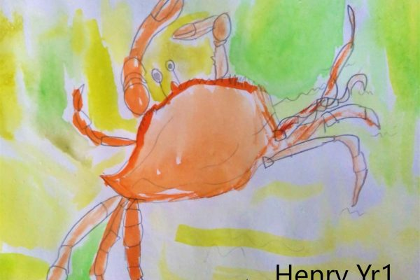 Year-1-Henry-Watercolour-Crab