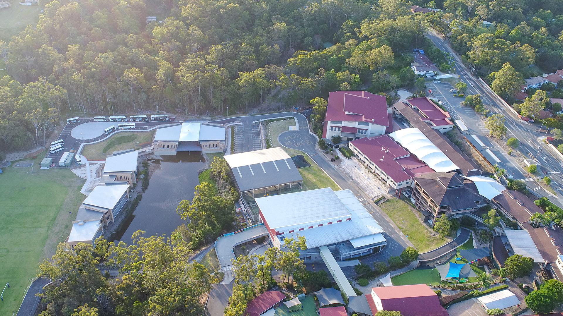 college aerial