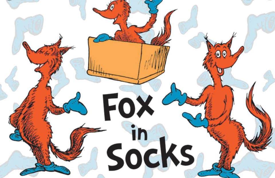 Prep-Fox in Socks