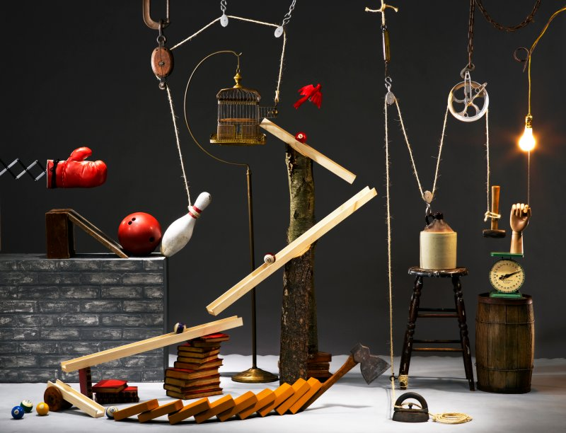 Year 7 Rube Goldberg Machines