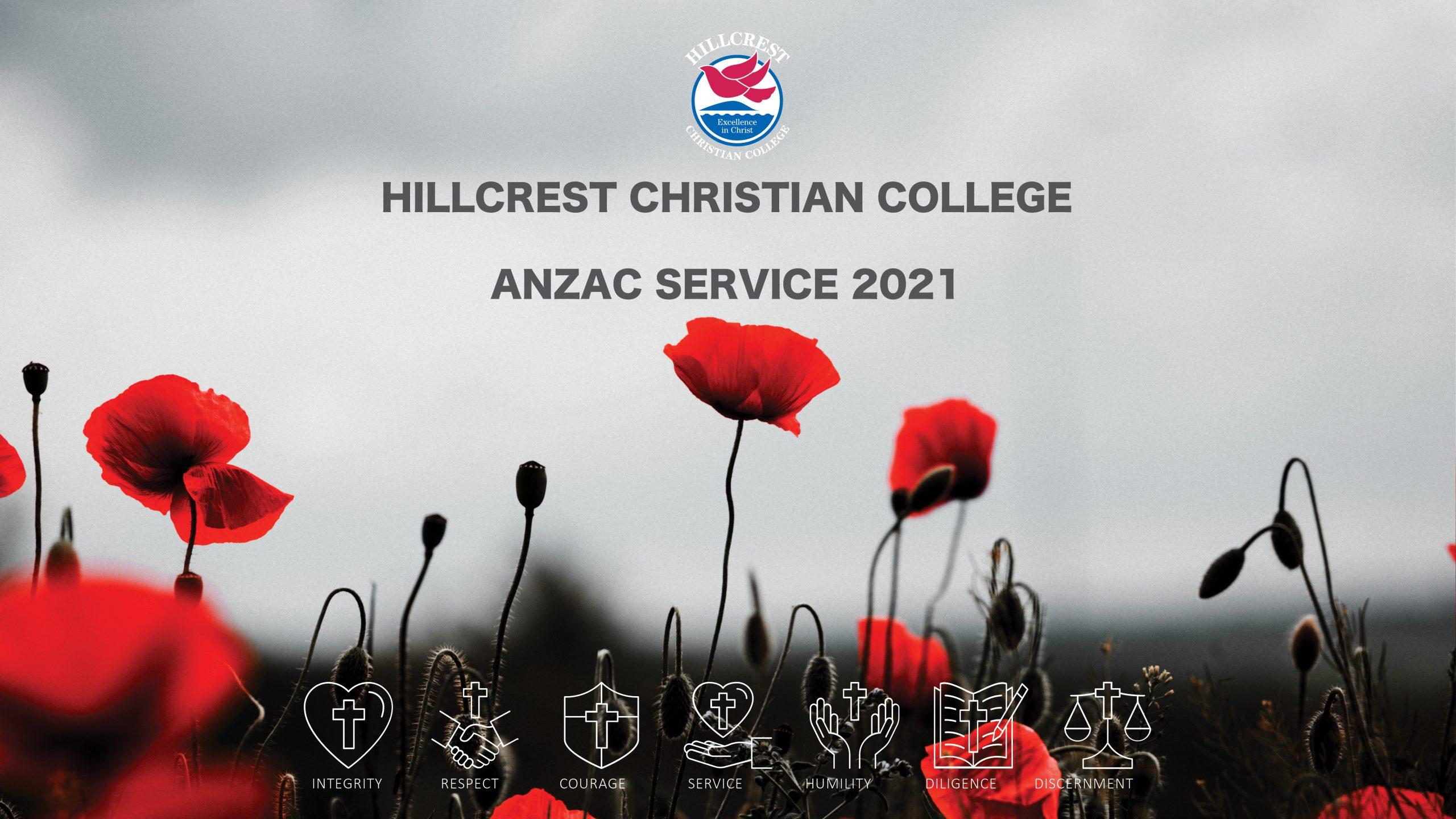 ANZAC SERVICE 2021